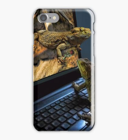INTERNET DATING...CAN'T WAIT!!...IM MAKING MY WAY OUT TOO U..BEARDED LIZARDS ..ON THE INTERNET U CAN GET IT ALL... LOL.THATS AMORE!!.PICTURE,PILLOW,TOTE BAG,BOOKS ECT, iPhone Case/Skin