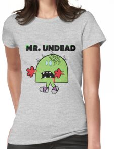 Mr Undead Womens Fitted T-Shirt