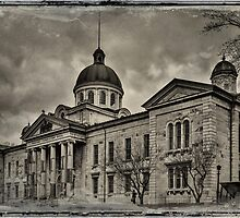 Frontenac County Court House - textured by PhotosByHealy