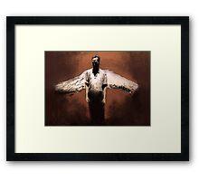Losing My Religion Framed Print