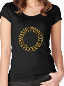 My Precious. Women's Fitted Scoop T-Shirt