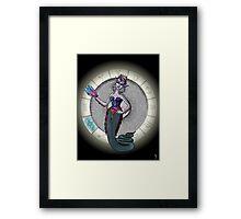 Capricorn Goddess Framed Print