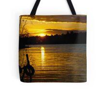 River Murray Sun Set Tote Bag