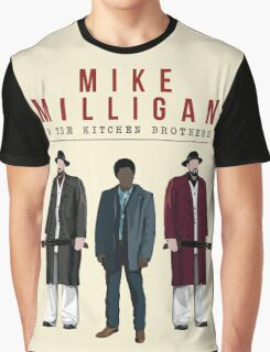 Mike Milligan & The Kitchen Brothers! FARGO Graphic T-Shirt