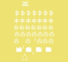 Logic Invaders - T Shirt Kids Tee