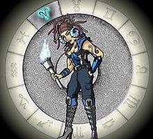 Aries Goddess by Jack Knight