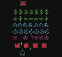 Logic Invaders - T Shirt by BlueShift