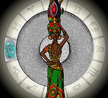 Aquarius Goddess by Jack Knight