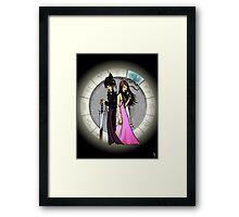 Gemini Goddesses Framed Print
