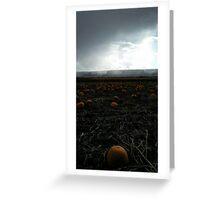 Monument Pumpkins Greeting Card