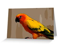 128 art Greeting Card
