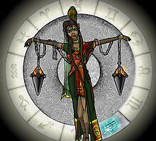 Libra Goddess by Jack Knight