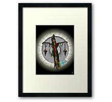 Libra Goddess Framed Print