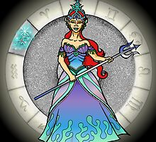 Pisces Goddess by Jack Knight