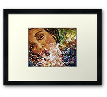 Smoking Passion. Framed Print