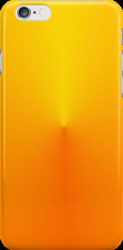 Orange Glow Mountain by Jennifer Walters