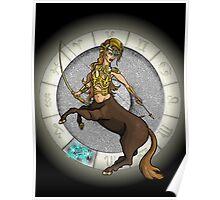 Sagittarius Goddess Poster