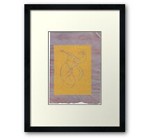 spirit dancing drawing Framed Print