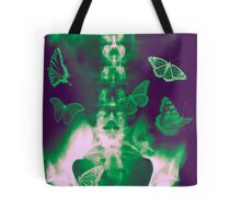 Butterflies in the stomach - x-ray  Tote Bag