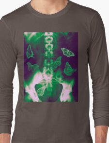 Butterflies in the stomach - x-ray  Long Sleeve T-Shirt