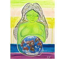 Gaia (Mother Earth) Photographic Print