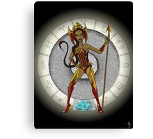 Scorpio Goddess Canvas Print