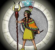 Taurus Goddess by Jack Knight