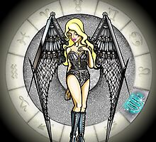 Virgo Goddess by Jack Knight
