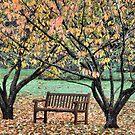 Sitting Pretty - Bisley Gardens, Mt Wilson NSW by Bev Woodman