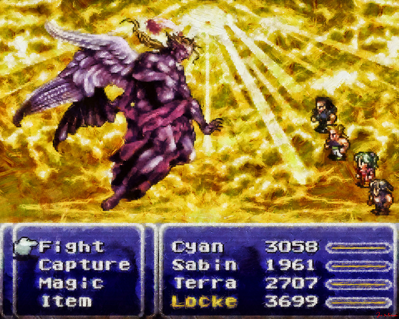 Kefka's Final Form by Joe Misrasi