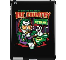 Harley's Bat Country iPad Case/Skin