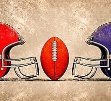 american football by Adam Asar
