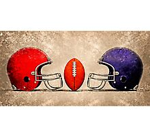american football Photographic Print