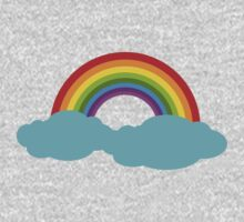 Rainbow with cloud by Ana Marques