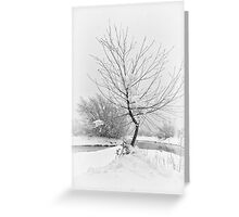 White Bend Greeting Card