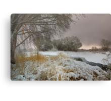 Winter Scene 1 Canvas Print