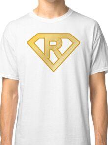 Golden superman letter Classic T-Shirt