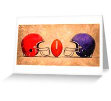 NFL American football Greeting Card