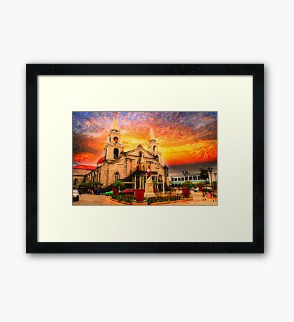Ancient Church Framed Print