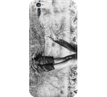 Girl's Legs Wearing Boots in the Desert iPhone Case/Skin