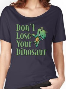 Don't Lose Your Dinosaur Stepbrothers Women's Relaxed Fit T-Shirt