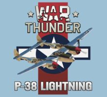 War Thunder P-38 Lightning Kids Clothes
