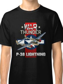 War Thunder P-38 Lightning Classic T-Shirt