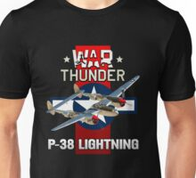 War Thunder P-38 Lightning Unisex T-Shirt