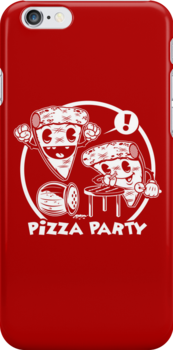 Pizza Party by harebrained