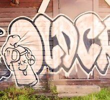 #Graffiti - Cabin Wall - #OldCrow by photoartful