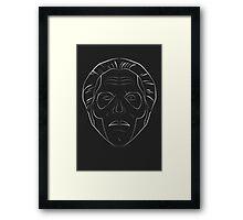 Ghost - Papa Emeritus III - Acoustic - lined Framed Print