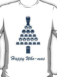 Happy Who-mas T-Shirt