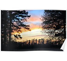 Beech Springs Sunset Poster