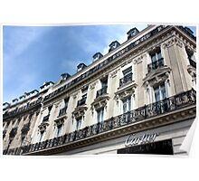 Cartier, Champs Elysées Poster
